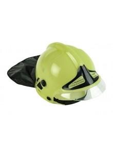 Dětská hasičská helma - žlutá